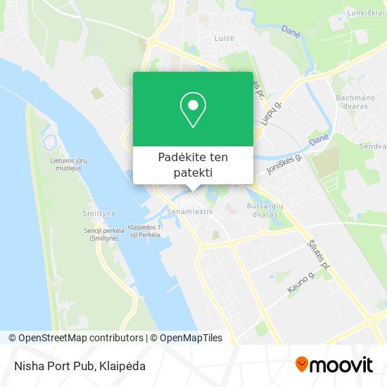 Nisha Port Pub žemėlapis