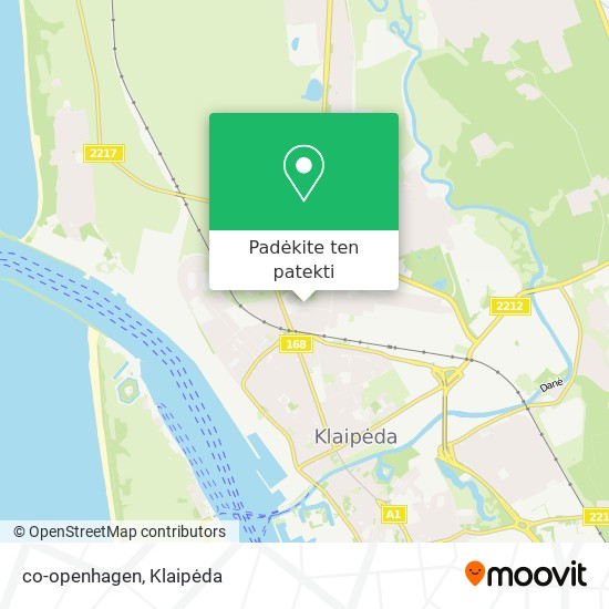 co-openhagen žemėlapis