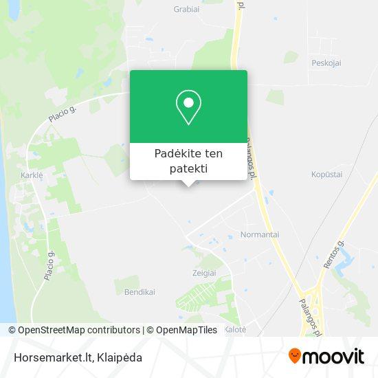 Horsemarket.lt žemėlapis