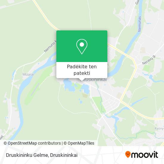 Druskininku Gelme žemėlapis