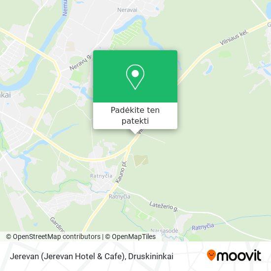 Jerevan (Jerevan Hotel & Cafe) žemėlapis