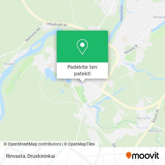 Rinvasta žemėlapis