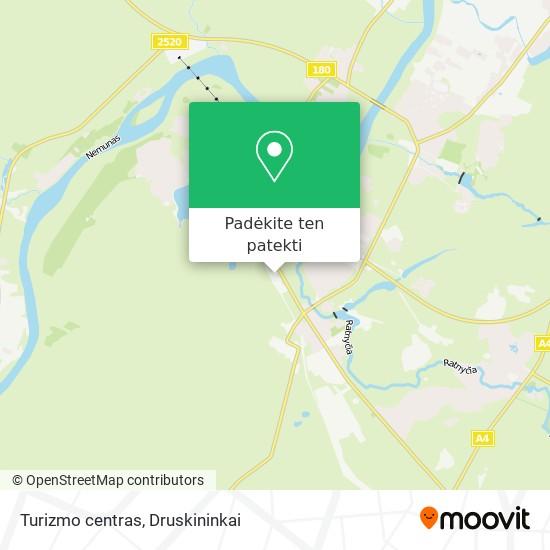 Turizmo centras žemėlapis