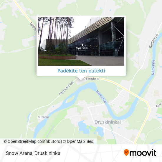 Snow Arena žemėlapis