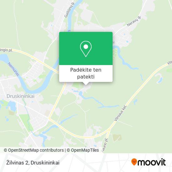 Žilvinas 2 žemėlapis