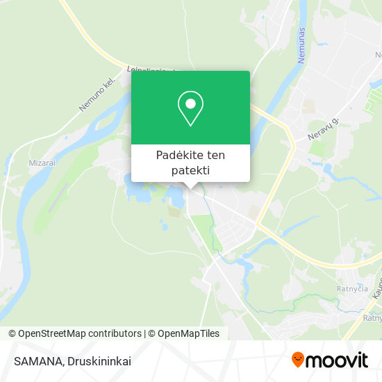 SAMANA žemėlapis